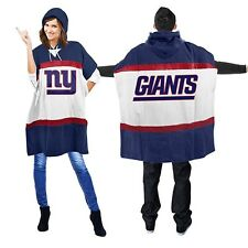 New York Giants Sweatshirt Hoodie Poncho