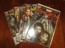 TOPPS COMICS LOTTO ALBI THE X-FILES  NUMERI 1-14-15-16-17 LINGUA ORIGINALE