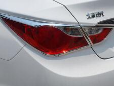 New Chrome Rear Light Cover Trim For Hyundai Sonata  2011 2012 2013 2014