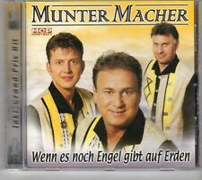 (GK352) Munter Macher, Wenn es noch Engel gibt auf Erden - CD