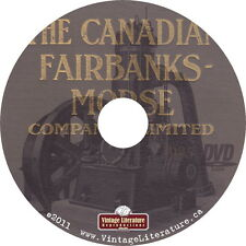 1925 Fairbanks Morse Catalog {Railroad Machinery Engine Tools Scales} on DVD