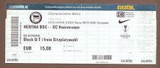 Orig.Ticket  Europa League  09/10   HERTHA BSC BERLIN - SC HEERENVEEN  !!  RARE
