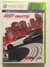 XBOX 360 GAME NEED FOR SPEED MOST WANTED  BRAND NEW & FACTORY SEALED