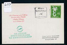 60554) 40 Jahre Deutsche Luftpost 5.2.59, MaSST DÜSSELDORF 1 19.2.59