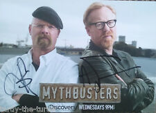 MythBusters  Autograph Reprint Jamie Hyneman  And  Adam Savage