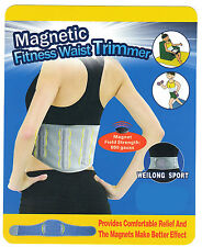 Magnetic Fitness Waist Trimmer Slimming Belt Lumbar Support Weight Loss