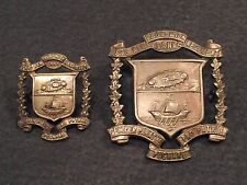 WW 2 Canada The New Brunswick Regiment ( Tank ) Cap Badge & Collar Moncton N.B.