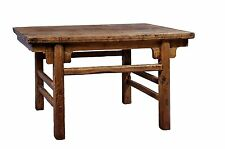Antique Revival Rectangular Rustic Coffee Table, Reclaimed Wood