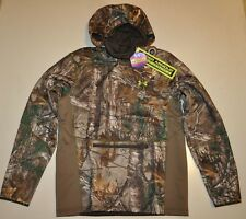 UNDER ARMOUR MEN'S LARGE COLDGEAR INFRARED SCENT CONTROL NINJA HOODIE CAMO NWT