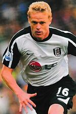 Football Photo DAMIEN DUFF Fulham 2009-10