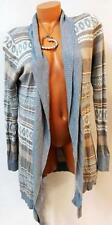 MAURICES GREY TRIBAL LIGHT WEIGHT WOMEN'S PLUS SIZE CARDIGAN SWEATER 2, 2X