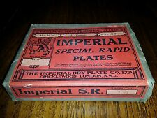 1894 ANTIQUE SEALED BOX IMPERIAL SPECIAL RAPID PLATES - IMPERIAL DRY PLATE CO.
