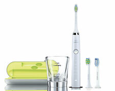 Philips Sonicare DiamondClean White HX9332/04 Electric Toothbrush + FREE Bonus