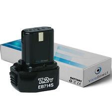 Batterie 7.2V 1500mAh pour Hitachi DN10DVA DN6DM DN7DT DN7DV DS 7DV DS7DV EB 7