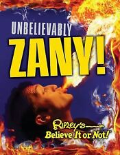 Ripley's Believe It Or Not: Unbelievably Zany (CURIO)-ExLibrary