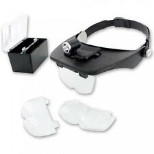 Shesto LightCraft Head Mounted Magnifier with 4 Lenses and Spotlight - 503956
