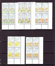 VATICAN - SG846-850 MNH 1986 INTERNATIONAL PEACE YEAR - BLOCKS OF 4