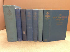 THE GUIDE TO CATHOLIC LITERATURE: VOLS. 1-7 By Walter Romig - 1940