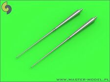 GLOSTER JAVELIN PITOT TUBES (2 PCS) DEDICATED TO AIRFIX KIT #48098 1/48 MASTER