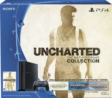 Sony - PlayStation 4 500GB Uncharted: The Nathan Drake Collection Bundle - Black