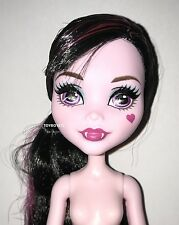 Welcome to Monster High Monstrous Rivals Draculaura Nude Doll NEW for OOAK Play