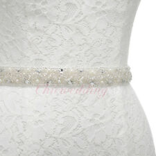 Rhinestone Bridal Sash Beaded Crystal Sash Belt Bridesmaids Wedding Gown Belt