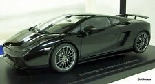 AUTO ART 1/18 - 74582 LAMBORGHINI GALLARDO SUPERLEGGERA METALLIC BLACK