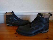 * G STAR RAW  LEATHER  BOOTS *  SIZE 10 MENS * EX COND *
