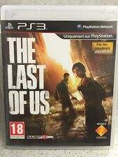 THE LAS OF US. JEUX PS3 AVEC NOTICE PLAYSTATION