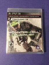 Tom Clancy's Splinter Cell Blacklist *Special Edition + Bonus DLC* (PS3) NEW