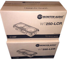 Monitor Audio WT-250-LCR WT 250 LCR In Wall Speaker (PAIR) Bran New