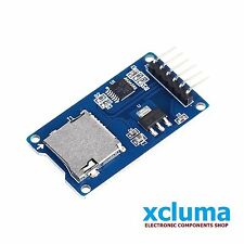 MICRO SD CARD MODULE |TF CARD MEMORY SHIELD |SD STORAGE BOAD  FOR ARDUINO BE0011