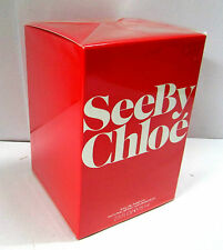 CHLOE SEE BY CHLOE 75ml 2.5oz  WOMEN 100% Original - Sealed / NIB Eau de Parfum