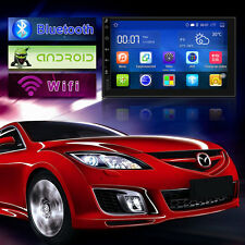 Android6.0 2 Din Car Stereo Radio GPS Wifi AM FM HD Mirror Link BT DVD HandTouch