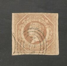 New South Wales #31 FVF USED 1854 1sh Queen Victoria - SCV $200.00