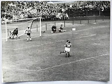 photo press football France-Paraguay  Coupe Monde 1958   382