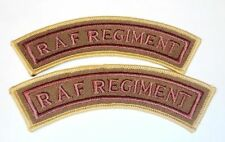 RAF Regiment Patch - Shoulder Patches - Worn with MTP Camo - NEW