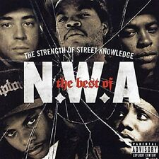 N.W.A. Strength Of Street Knowledge Best Of CD NEW SEALED Straight Outta Compton