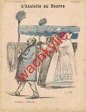 L'assiette au beurre n°23 du 05/09/1901 Cadel Braun d'Ostoya Moreau Michaël Darc