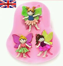 Sugarcraft Mould Lace Silicone Mold Cake Decorating fairy Elf Birthday  Baking
