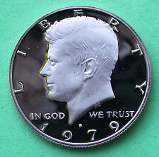 1979 S Proof Kennedy Half Dollar Coin 50 Cent JFK from Proof Set