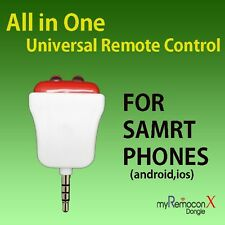 IR Universal Remote Control for Smart Phone - MyRemoconX