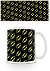DC ORIGINALS BATMAN LOGO PATTERN MUG GIFT BOXED NEW 100 % OFFICIAL MERCHANDISE