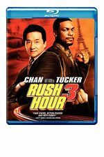 Rush Hour 3 Bluray (2- Disc 2007) Jackie Chan Chris Tucker New Free Shipping