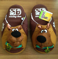 NWT SCOOBY DOO SOFT PLUSH SLIPPERS SHOES UK SIZE 4-8, US 6-10, EU 36-42