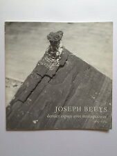 JOSEPH BEUYS, limited edition exhibition catalogue, Anthony D'Offay gallery 1982