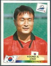 PANINI WORLD CUP FRANCE 1998- #338-SOUTH KOREA-YOUNG IL CHOI