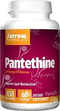 Pantetina by Jarrow, Vitamina B5, 450mg x60caps INFERIOR COLESTEROL