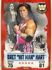 "Slam Attax takeover - #222 bret ""Hit Man"" Hart"