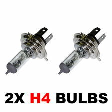 PACK OF 2 - H4 472 CAR BULBS HEADLAMP HEADLIGHT 12v 60/55w FOG DIP AND MAIN BEAM